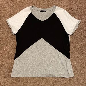 SHEIN color block tshirt